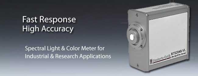 BTS2048-VL Spectral Light & Color Meter for Industrial & Research Applications