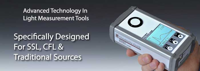 Luxmeter Light & Color Meter for Industrial & Research Applications