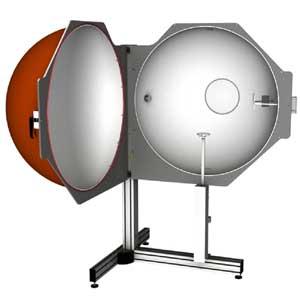 BTS2048-VL with 1m integrating sphere