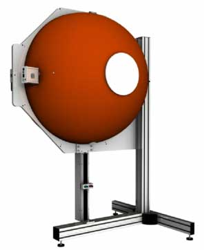ISD-100HF-BTS2048-VL Integrating Sphere with 1000 mm / 39  inch diameter from Gigahertz-Optic