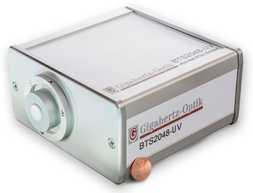 BTS2048-UV BiTec Sensor UV Spectroradiometer from Gigahertz-Optic